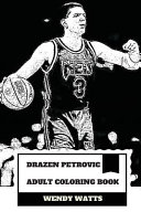 Drazen Petrovic Adult Coloring Book