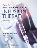 Plumer s Principles and Practice of Infusion Therapy PDF