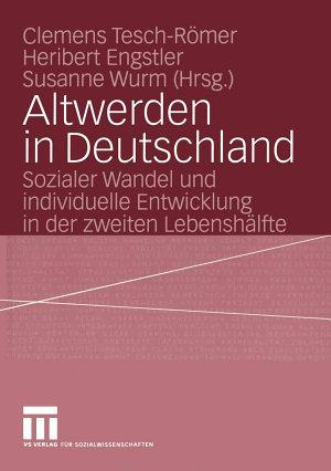 Altwerden in Deutschland PDF