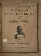 The Hahnemann materia medica: Part 1