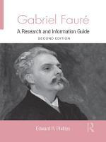 Gabriel Faure PDF