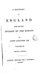 A History of England from the Fist Invasion by the Romans, 7