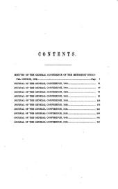 Journals of the General Conference of the Methodist Episcopal Church: 1796-1836, Volume 1