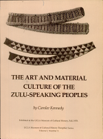 The Art and Material Culture of the Zulu-speaking Peoples