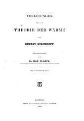 Theorie der waerme