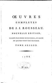 La nouvelle Héloïse: Volume2