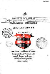 Sonetti e Canzoni di Jacopo Sannazaro