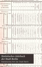 Statistisches Jahrbuch der Stadt Berlin: Band 22