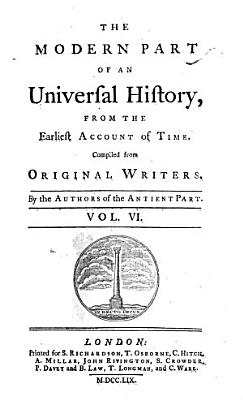 The Modern Part of an Universal History PDF