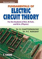 Fundamentals of Electric Circuit Theory PDF