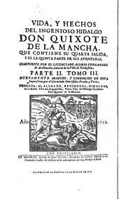 El Quijote apócrifo: compuesto por el licenciado Alonso Fernández de Avellaneda [pseud.] ...Edición cuidadosamente cotejada con la original, publicada en Tarragona en 1614