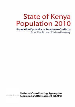 State of Kenya Population PDF