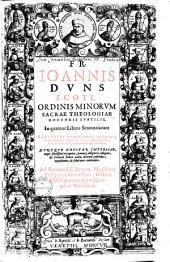 In quatuor libros sententiarum perutiles quaestiones