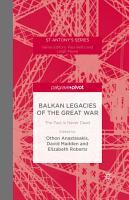 Balkan Legacies of the Great War PDF