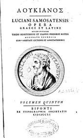 Loukianos (romanized form): Volume 5