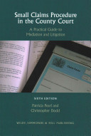 Small Claims Procedure in the County Court