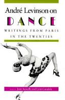 Andr   Levinson on Dance PDF
