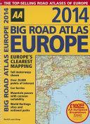 Big Road Atlas Europe 2014