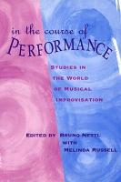 In the Course of Performance PDF