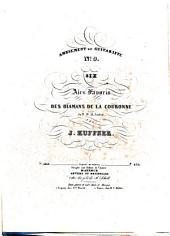 Six airs favoris des Diamans de la couronne