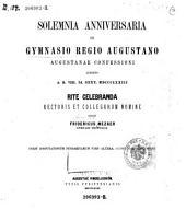 Disputationum Pindaricarum pars altera, Schmidtiana continens