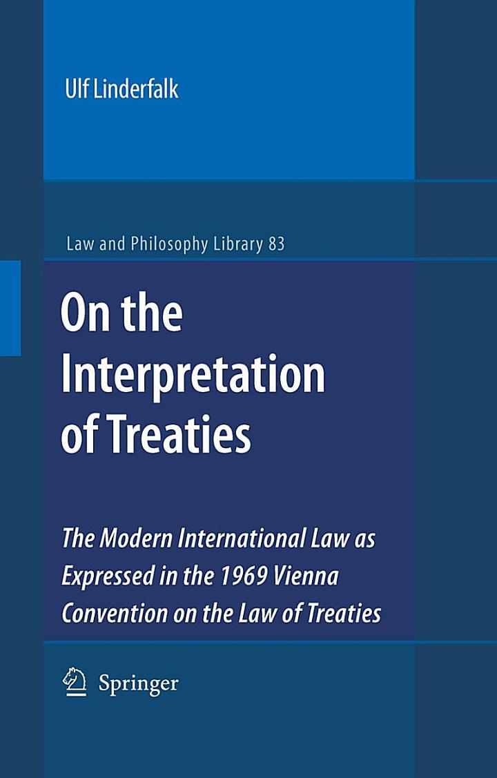 On the Interpretation of Treaties