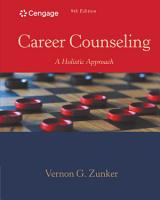 Career Counseling  A Holistic Approach PDF