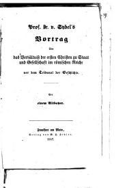 Kleine historische Abhandlungen: Volume 1