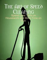 The Art of Speed Cleaning   Spend Less Time on Housework and More Time on Fun PDF