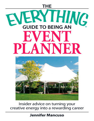 The Everything Guide to Being an Event Planner PDF