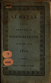 Almanak voor de Provincie Noord-Braband, voor het jaar ....: Volume 5