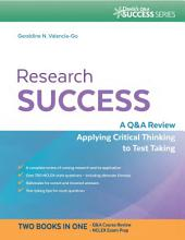 Research Success A Q&A Review Applying Critical Thinking to Test Taking