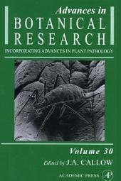 Advances in Botanical Research: Volume 30