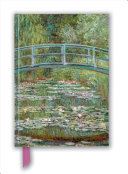 Claude Monet - Bridge Over a Pond for Water Lilies Foiled Blank Journal