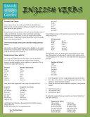 English Verbs (Speedy Study Guide)