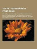 Secret Government Programs