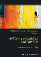 Wellbeing  A Complete Reference Guide  Wellbeing in Children and Families PDF