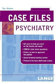 Case Files Psychiatry Book