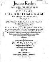 Chilias logarithmorum ad totidem numeros rotundos