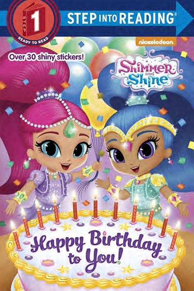 Download Happy Birthday to You   Shimmer and Shine  Book