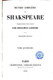 Oeuvres complètes de Shakspeare [sic], 4