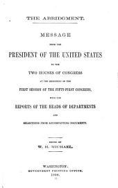 Abridgement, Message and Documents