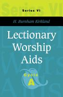 Lectionary Worship Aids PDF