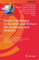 Future Challenges in Security and Privacy for Academia and Industry PDF