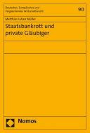 Staatsbankrott und private Gl  ubiger PDF