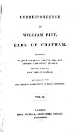 Correspondence of William Pitt: Volume 2