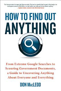How to Find Out Anything Book