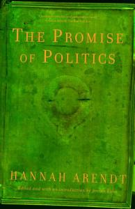 The Promise of Politics Book