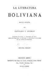 La literatura boliviana: breve reseña