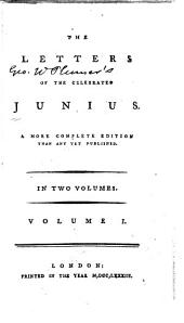 The letters of the celebrated Junius: Volume 1